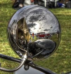 Self Portrait (Danny Rotondo Photography) Tags: cars newjersey automobile hdr holmdel carshow alemdagqualityonlyclub monmouthcountyconcoursdelegance