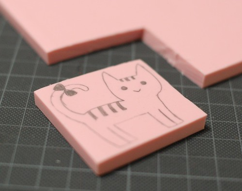 How to carve a stamp 6