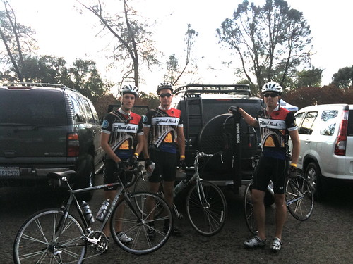 Team Road Rash - before the gold hills century