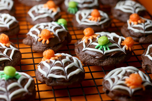 Trix Cereal Spider Cookies
