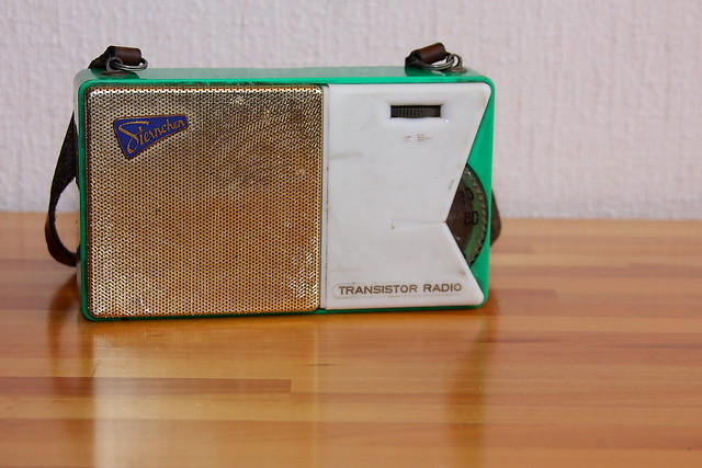 Transistorradio quotSternchenquot from 1959 (Made in GDR) by gynti_46