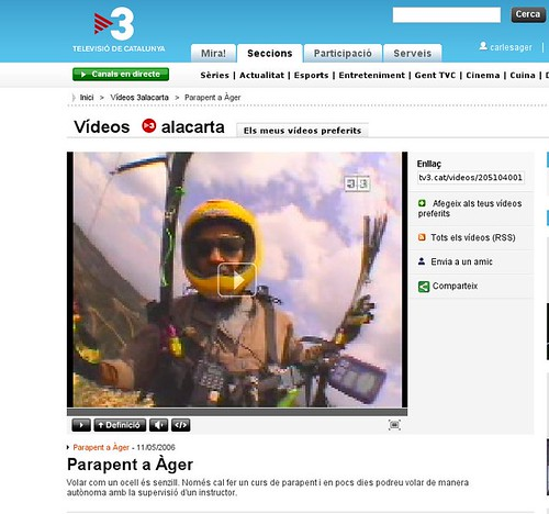 Video de la escola Albatros a TV3