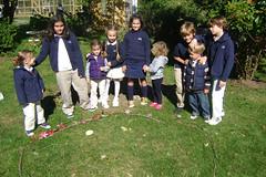 Buddies Create Sculptures (Ross School) Tags: sculpture nursery andygoldsworthy lowerschool