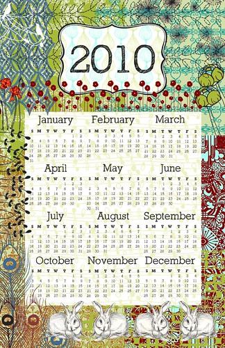 2010 Poster Calendar