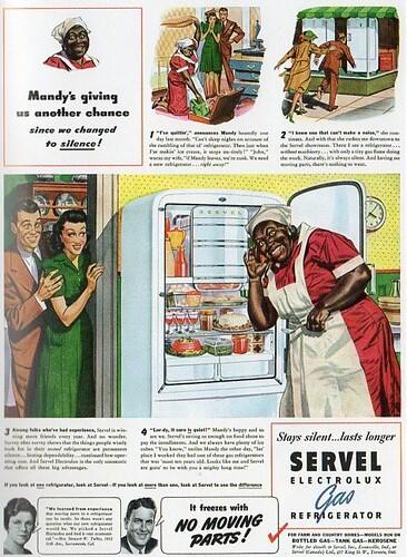 Servel Electrolux Gas Refrigerator