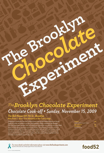 Brooklyn Chocolate Experiment