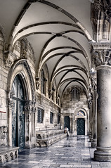 The Rectors Palace, old town Dubrovnick. Croatia (dleiva) Tags: arch arches architecture building buildings castle castles cities city color colour column columns croatia daytime dubrovnik europe exterior facade faade facades faades old town outdoor outdoors outside palace palaces portico porticos rectors arco arcos arquitectura ciudad vieja ciudades columna columnas croacia da diurno edificacin edificaciones edificio edificios europa exteriores fachada fachadas lugares del mundo palacio rector palacios prtico prticos