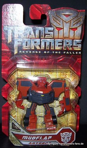 Mudflap Movie-2009  Legends Transformers Revenge of the Fallen 001