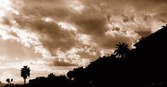 Vuela...Flies... (Jose Carlos Fernandez) Tags: clouds airplane nikon silhouete nubes d200 silueta ajaccio avion corcega nwn martesdenubes