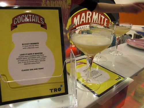 Marmite Cocktails