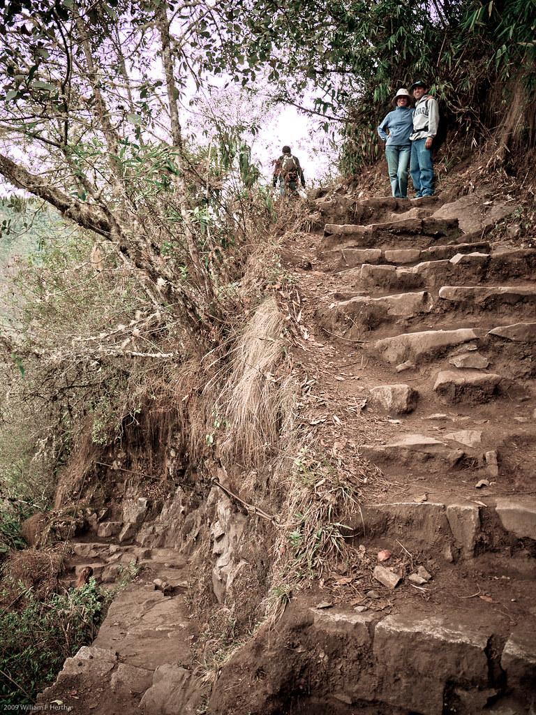 Climbing Waynapicchu