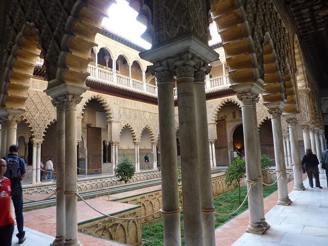 Patio de las Doncellas, Seville