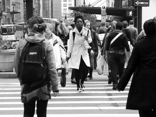 Midtown Crosswalk, NYC