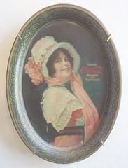 COCA COLA TIP TRAY 1914 (ussiwojima) Tags: advertising cola coke tip tray soda cocacola 1914
