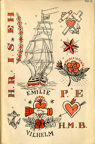 om tattoo designs. tattoo designs from 1891 Bergh