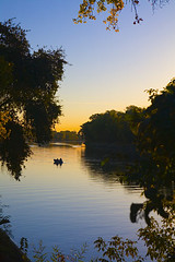 The American River where it meets the Sacramento River (Anthony Dunn Photography) Tags: california park morning usa nature water northerncalifornia sunrise river landscape unitedstatesofamerica valley northamerica environment sacramento northern riverbank discoverypark sacramentovalley
