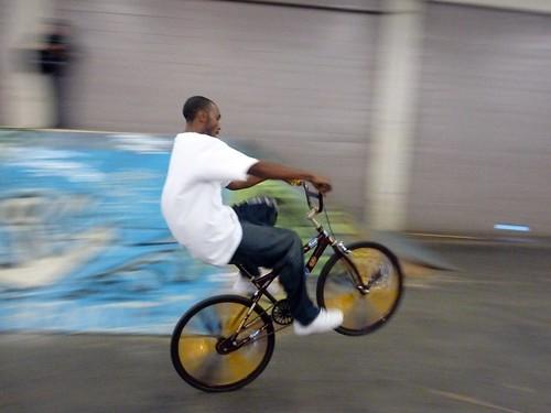 Scraper Wheelie