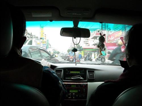 Driving in Taiwan