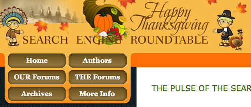 Thanksgiving '09 Theme at SERoundtable.com