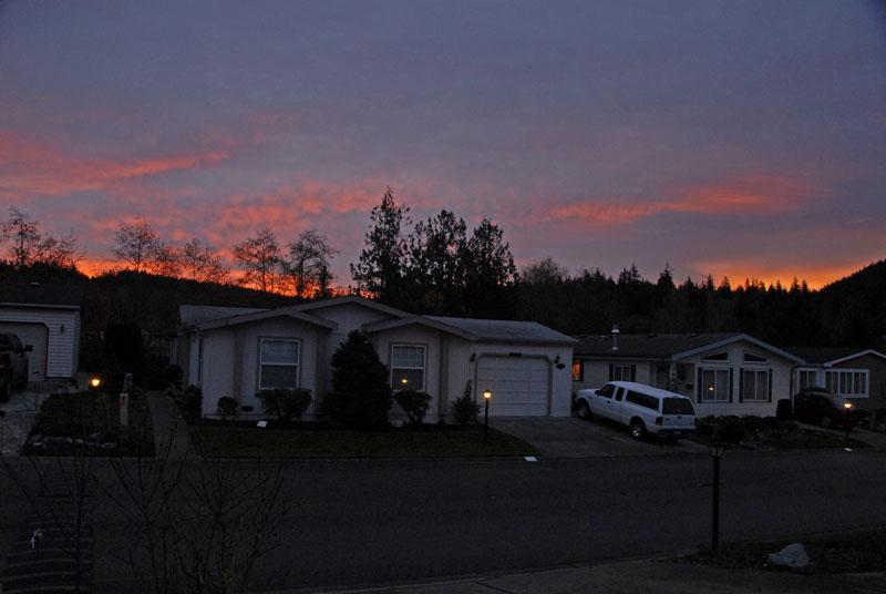 Sunrise 25 Nov 01