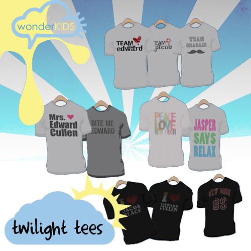blog 11.25.09 twilight tees