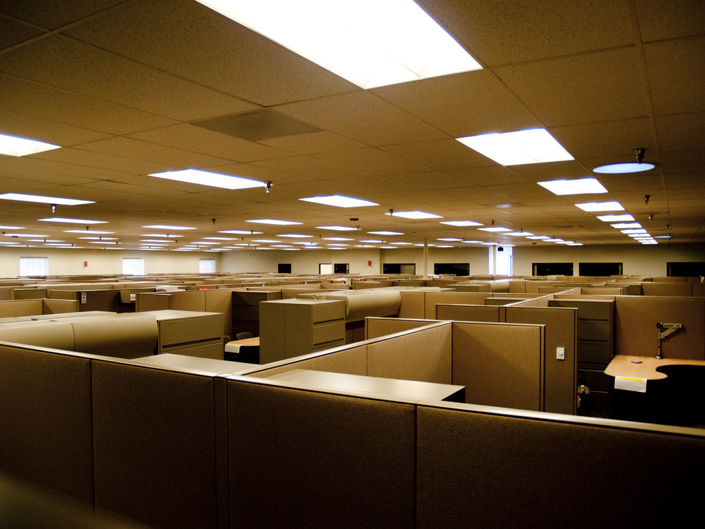 cubicle lighting. 112809_041 (Shot By 99) Tags: Light Lights Office Cubicle Cubicles Lighting I
