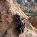 Dong Liu Climbing Gandy 5.9+ - Joshua Tree