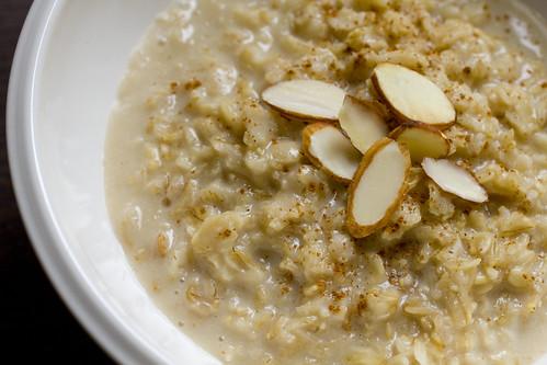 Vanilla Almond Oatmeal 4