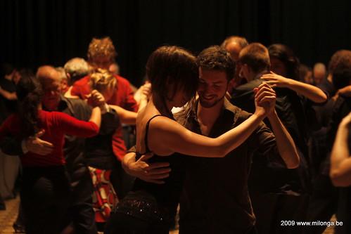 Patio de Tango: ultima milonga de 2009