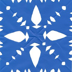 papel picado we made for hanukkah decorations
