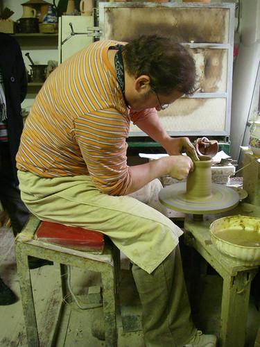 potter demonstration
