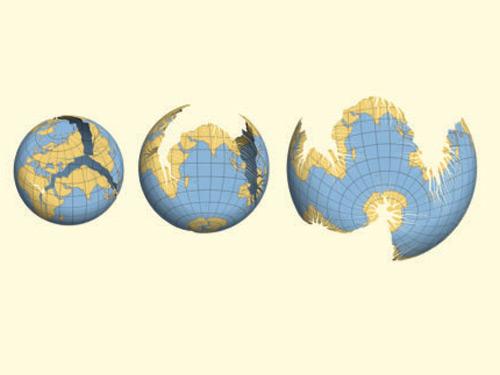新投影對地球的新認識