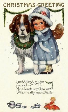christmas postcard 2