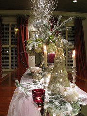 MOBILE BAY ARTICLE (LenaeDenson.com) Tags: christmas tree gold mirror orchids cone chocolate hydrangeas freshfruit redandgreen flocked