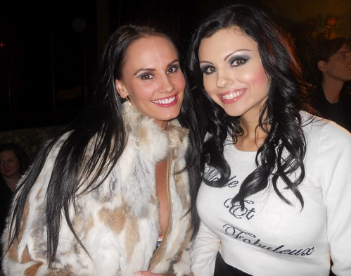 Kristen DeLuca, Krystle Lina - Toys For Tots Charity Event - F.A.M.E Mixer / London Moore's Birthday Bash
