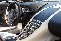 Aston Martin One-77 Interior (motoringexposure) Tags: astonmartin 177 one77 astonmartinone77 astonmartin177