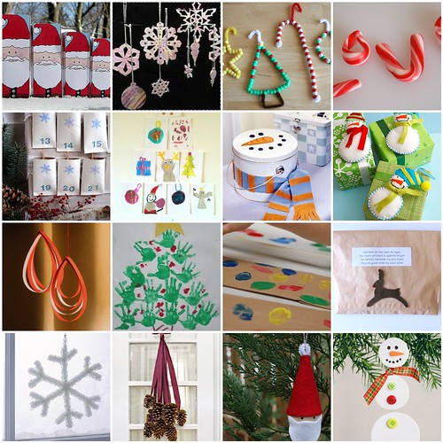 Free printable a roundup of christmas ideas for Printable christmas craft ideas