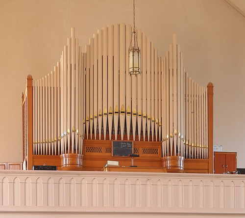 Saint Francis of Assisi Roman Catholic Church, in Aviston, Illinois, USA - pipe organ