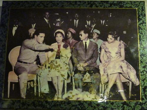 Elvis and Thai King