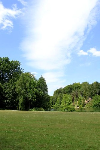 view of park close to castle