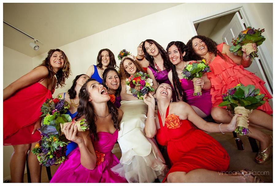 prep bride group9a