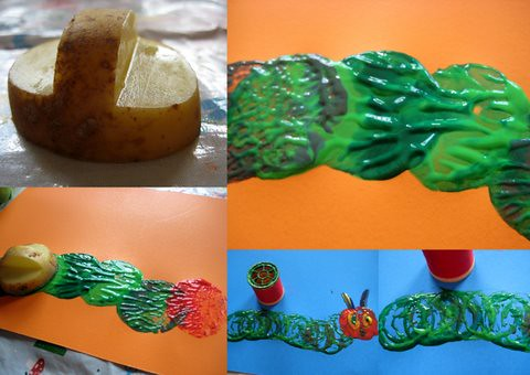 The Very Hungry Caterpillar Craft Activities