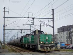 BB 60039 + BB 60043 Fret + Trans'Céréales (ChristopherSNCF56) Tags: rennes rosporden trains marchandises train sncf bb 60000 60043 60039 fret cereales lorient