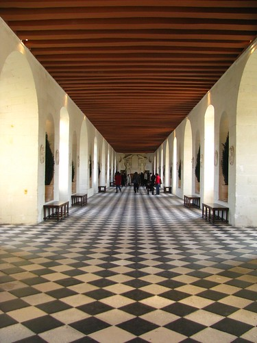 Hallway of Chenonceau