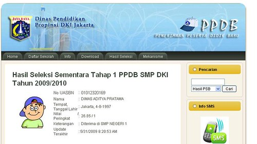 contoh hasil psb by you.