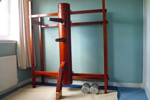 Wing Chun Wooden Dummy by antiogar, on Flickr