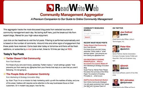 RWW aggregator