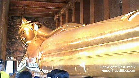 The Reclining Buddha In Wat Pho Temple