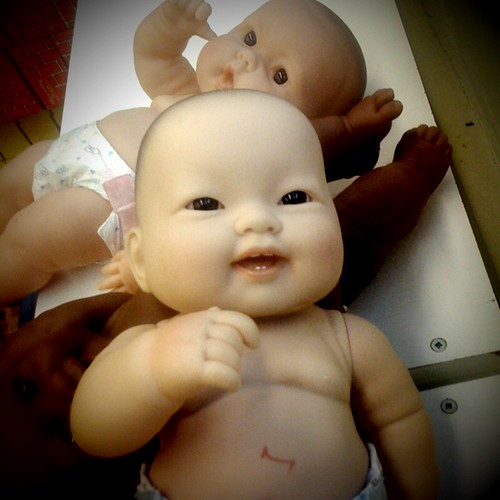 creepy babies at childcare