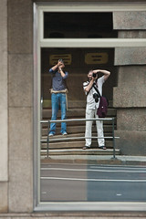 Vaya par de dos (davizin) Tags: coruña photowalk corua worldwidephotowalk